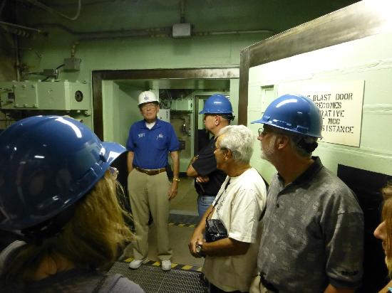 Titan Missile Museum: One of our tour guides