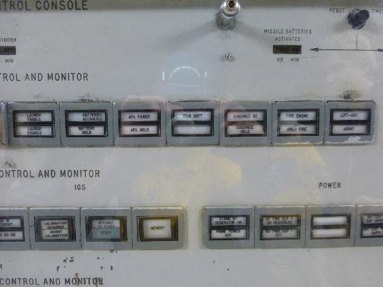 Titan Missile Museum: Missile launch status lights