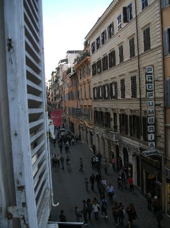 Residenza Frattina: the view from the room