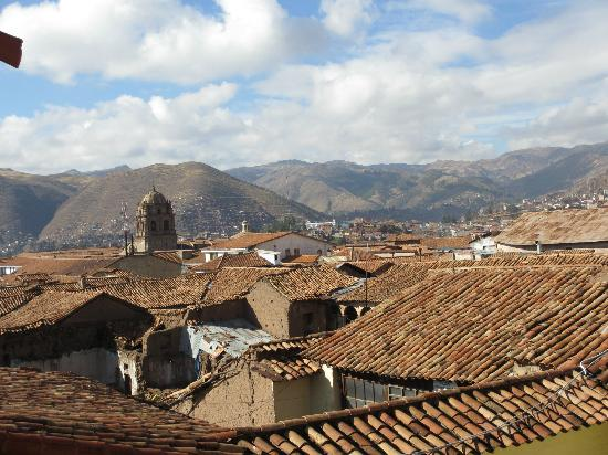 Novotel Cusco: What a nice view.