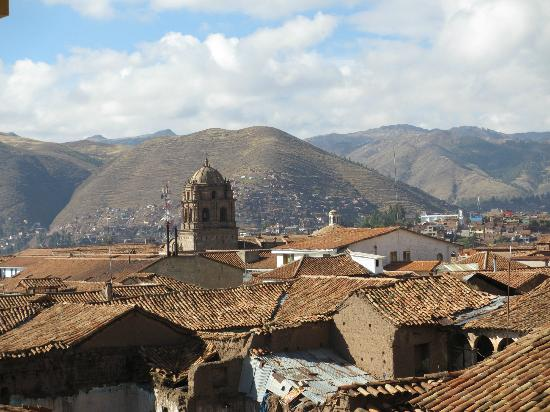 Novotel Cusco: One of the views frm our room.