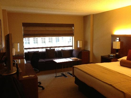 Hyatt Regency Crystal City at Reagan National Airport: My mini suite
