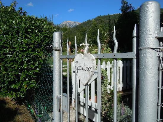 Casa Pozza Tiziano : il giardino