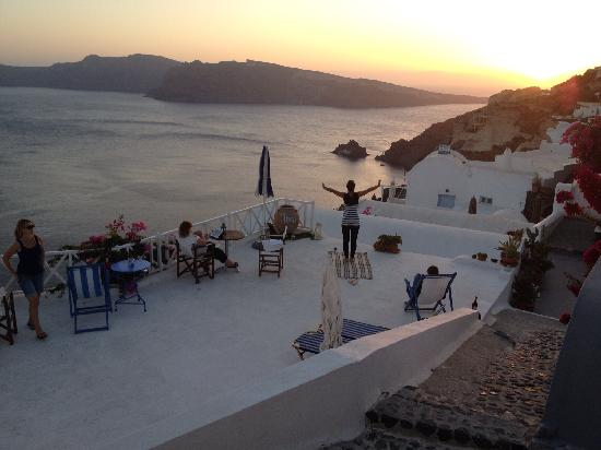 Thea  Studios-Rooms: View from terrace