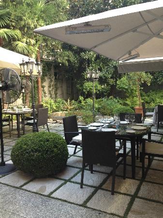 Jardin de Recoletos: Breakfast Garden