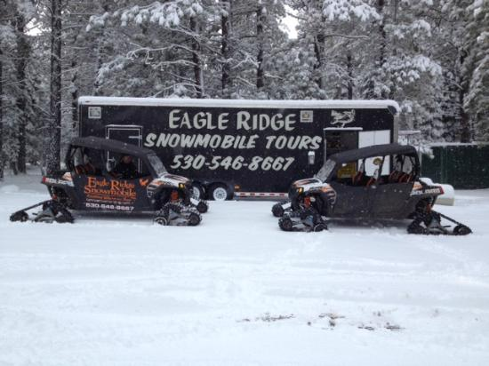 Eagle Ridge Snowmobile Outfitters : Our Trailer