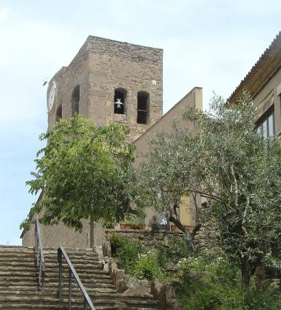 Vista parcial Iglesia Santa Maria de Balsareny