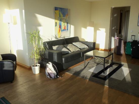TopDomizil Apartments Panorama Friedrichstrasse: livingroom