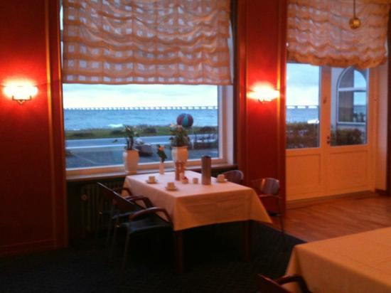 Nyborg Strand: Frühstück mit Blick auf die Ostsee