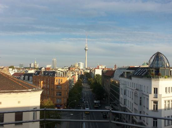 TopDomizil Apartments Panorama Friedrichstrasse: View from room