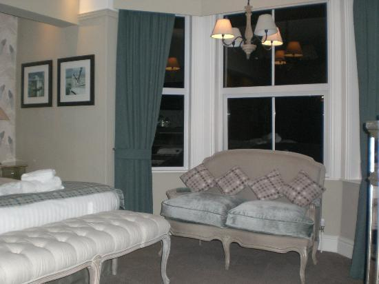 The Anglesey Arms: Bedroom