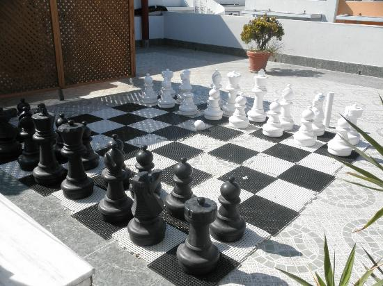 Kosta Palace: Giant Chessboard on the Roof