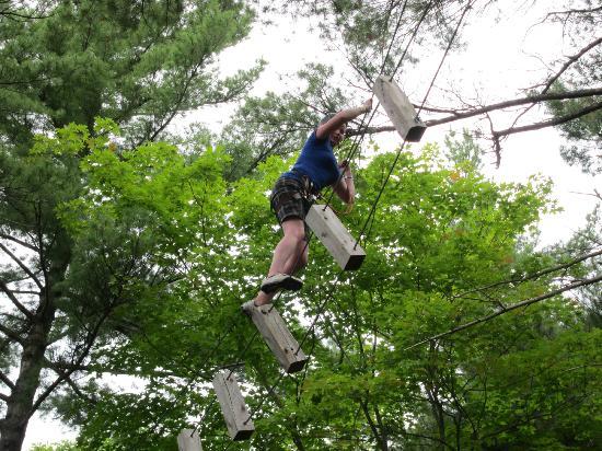Eaglecrest Aerial Park : Got it figured out