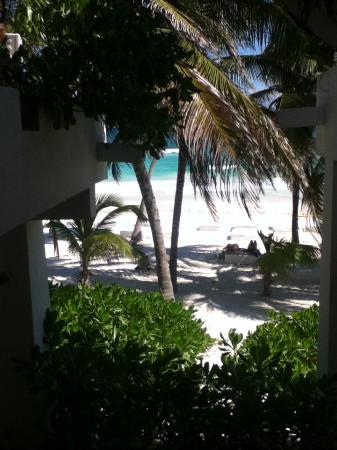 Hotel Cabanas Tulum: Vista desde mi habitacion