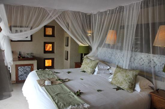 Simbambili Game Lodge: room
