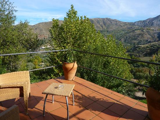 La Almunia del Valle: View from our terrace