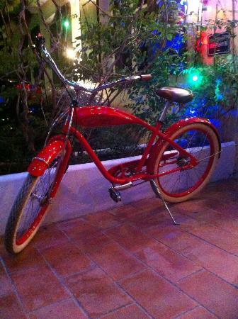 Hotel Ermitage: le vélo esprit fifties