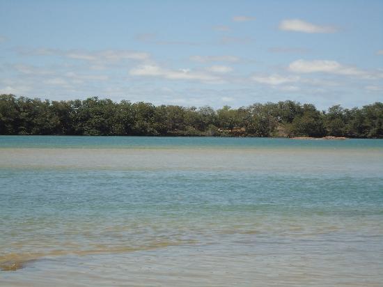 Ilha do Rodeador: Um praia de rio com águas cristalinas
