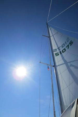 Caribbean Lady Charters: Sail's up!