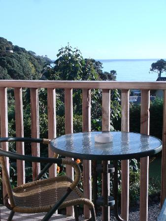 Manuka Lodge: Private Balcony