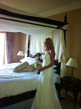 The Waterside House Hotel: The Bride and the Bridal suite.
