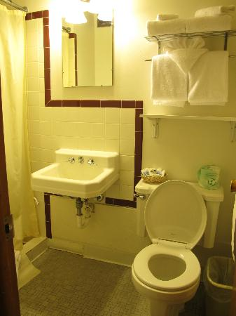 Coyote Mountain Lodge: the bathroom