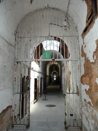 Eastern State Penitentiary: hallway