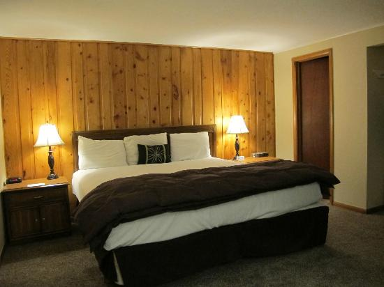 Coyote Mountain Lodge: the room