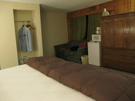 Coyote Mountain Lodge : the room