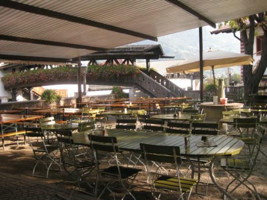 Braugarten giardino forst lagundo ristorante recensioni for Giardino forst