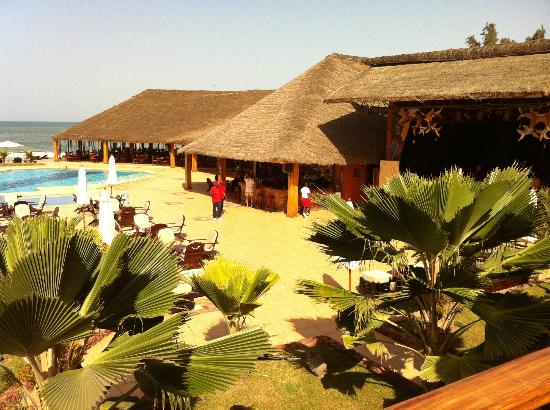 Royal Horizon Baobab: Buffet e Bar da piscina
