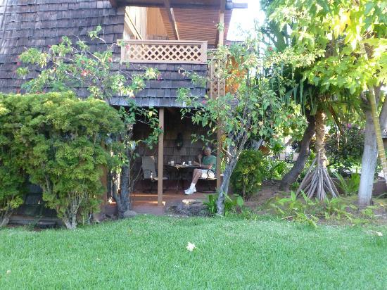 Hotel Molokai: Our lanai