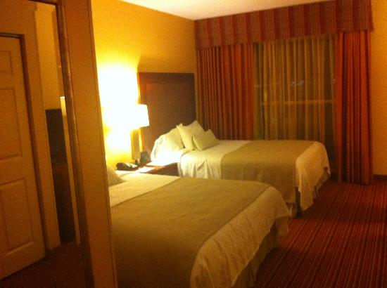 Embassy Suites by Hilton Norman - Hotel & Conference Center : Bedroom