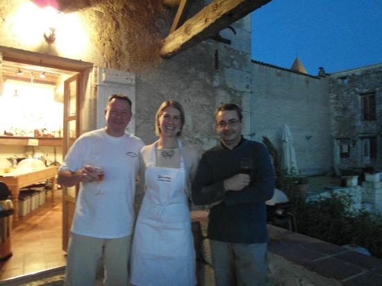 The Gascony French Cookery School: The fantastic teachers - David and Bertrand