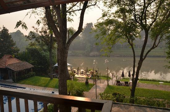 Lanna Dusita Boutique Resort by Andacura: vue de la chambre (1er étage)
