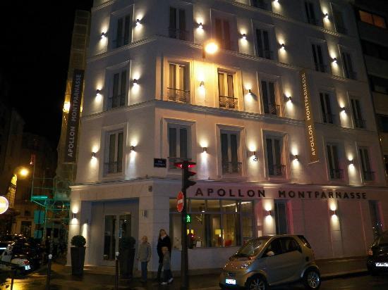 Hôtel Apollon Montparnasse : Vue de l'extérieur