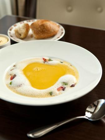 Wayne Hotel: Gingered Butternut Squash Soup