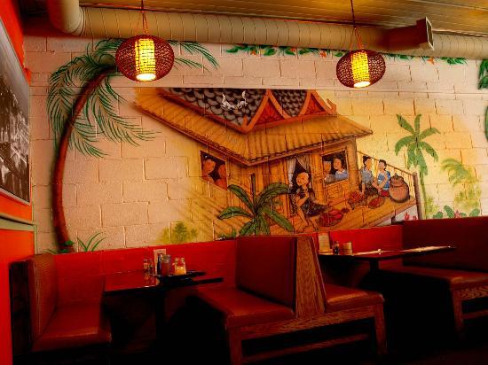 Dara Thai Restaurant Interesting Decor