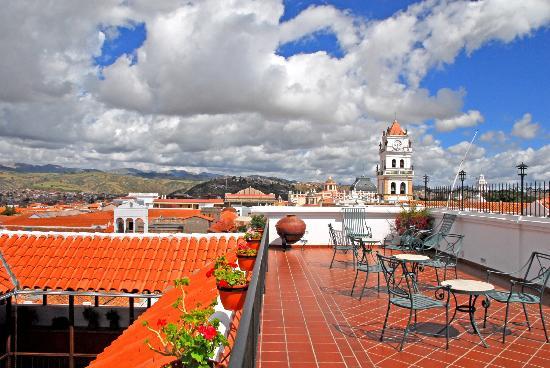 Parador Santa Maria la Real: Terraza El Mirador