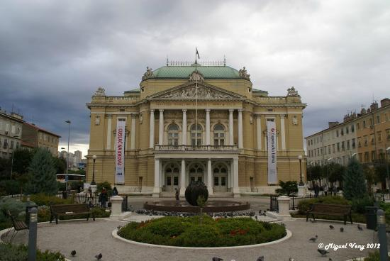 Croatian National Theatre Ivan pl. Zajc