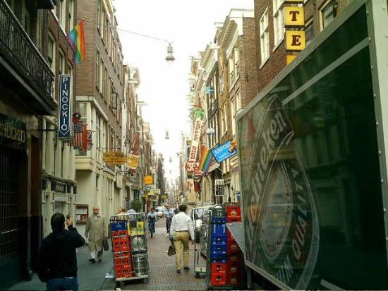 Tulip of Amsterdam B&B: surroundings (Chinatown)