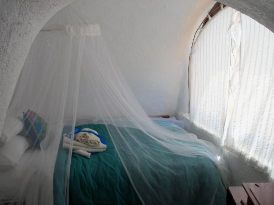 Bedroom, Antithesis Hotel, Fira, Santorini