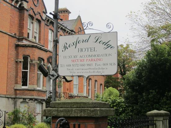 Roxford Lodge Hotel: Arrivo al B&B