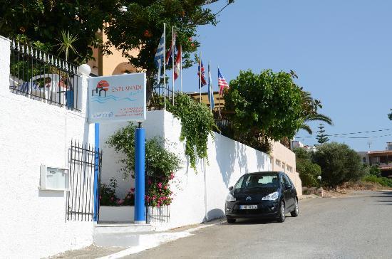 Esplanade Hotel Apartments : Vista del hotel