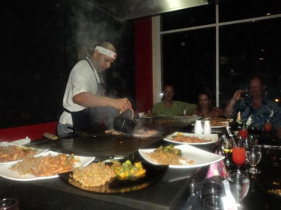 Memories Varadero Beach Resort: Japanese restaurant
