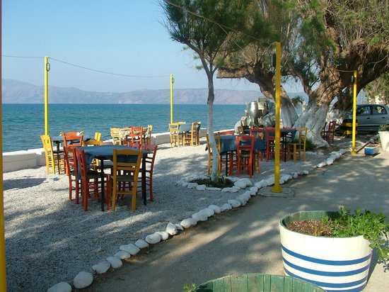 Restaurant Katerina : dinner by the sea