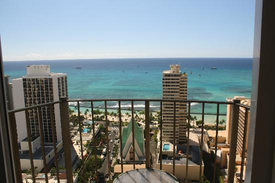 View From Room Picture Of Hilton Waikiki Beach Honolulu
