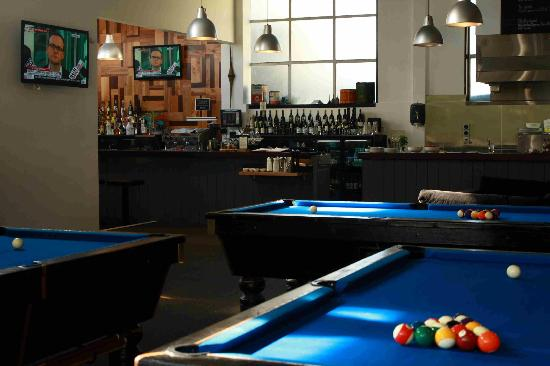 Three Professional Pool Tables Picture Of Groper Garage Bar - Pool table in garage
