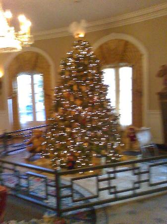 Williamsburg Lodge-Colonial Williamsburg: Christmas scene in lobby area