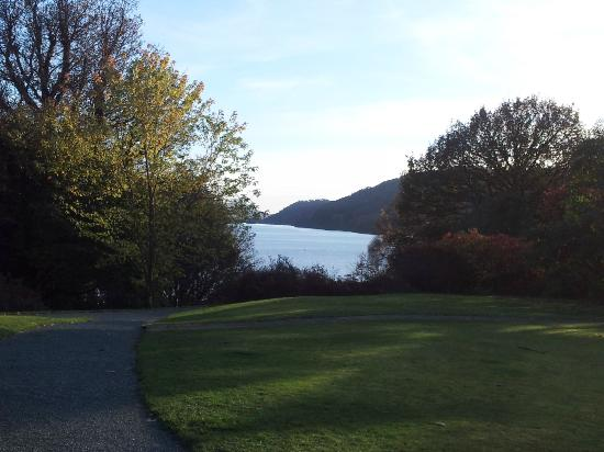 Cragwood Country House Hotel: View of the lake from grounds